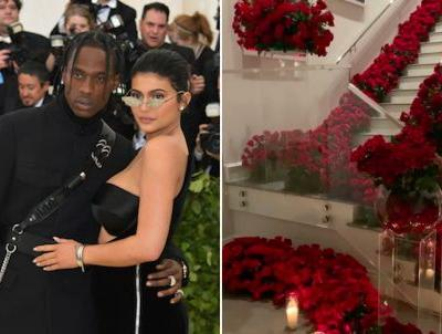 How Much It Really Costs To Fill A Room With Roses, Like Travis Scott Did For Kylie Jenner