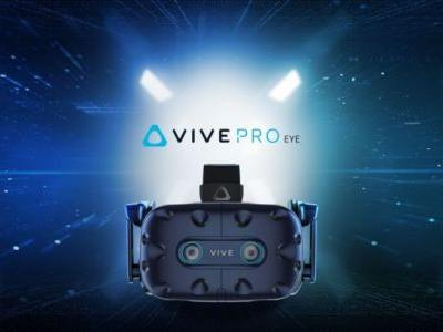 HTC's newest VR headsets: Vive Pro Eye for PC, Vive Cosmos for untethered VR