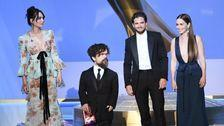 'Game Of Thrones' Cast Gets Standing Ovation As They Reunite Onstage At The Emmys