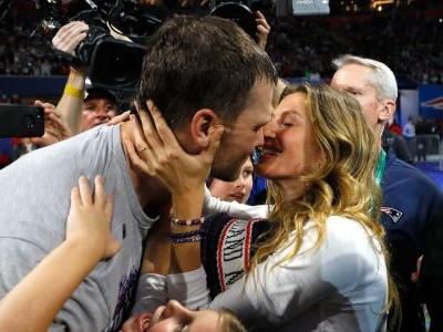 Gisele Bündchen Shares a Sweet Kiss With Tom Brady After His 6th Super Bowl Win