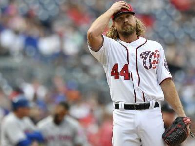 Nationals release Trevor Rosenthal after horrible outing against Braves