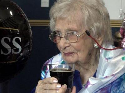 100-Year-Old Woman Says Secret to Long Life Is 'A Guinness a Day'