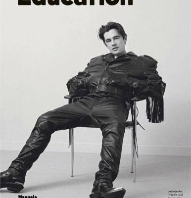 Werner Schreyer & Mark Vanderloo Rock Leather for GQ Style Germany