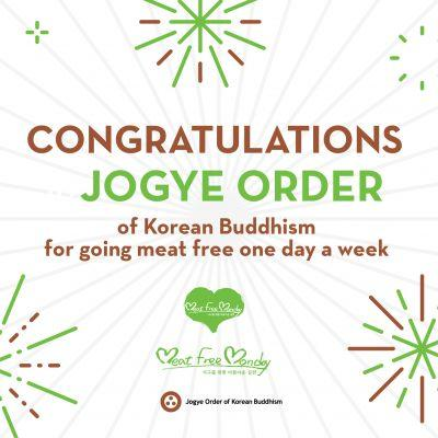 Jogye Order of Korean Buddhism to Go Meat Free One Day a Week