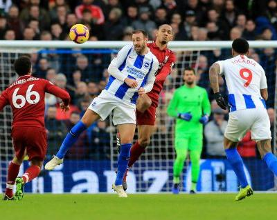 Salah steadies Liverpool's EPL nerves with win at Brighton