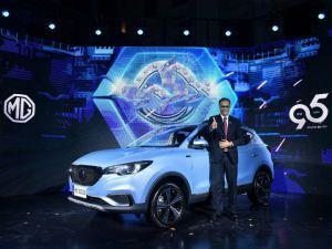 MG eZS All-Electric SUV Unveiled Ahead Of India Launch