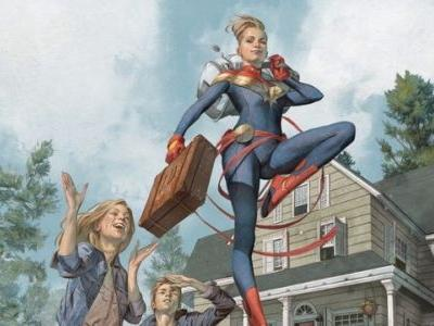 Captain Marvel Receives a Dramatic New Origin