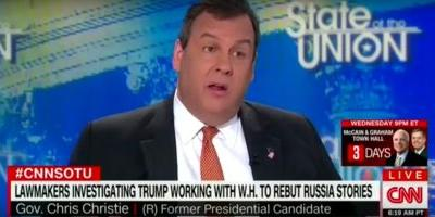 Chris Christie says a special prosecutor isn't needed to investigate Trump's ties to Russia