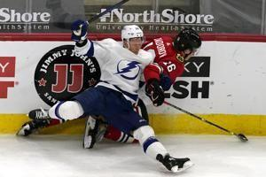 Lightning top Blackhawks on Killorn's horn-beating OT goal