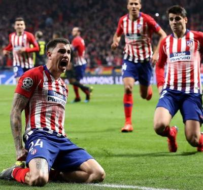 Atletico Madrid 2 Juventus 0: Advantage Atleti after late double