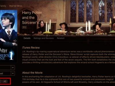 Many Warner Bros Movies Have Reverted to HD Instead of 4K on iTunes and in User Movie Libraries