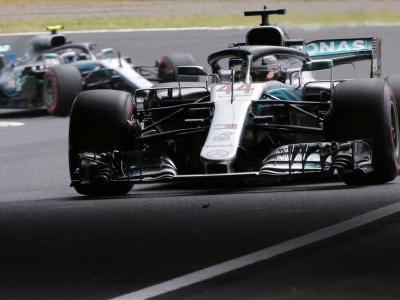 Hamilton claims pole position for Japanese Grand Prix