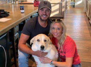 Country Superstar Luke Bryan and Family Foster Another Dog in Need