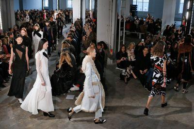 Silver pants, jigsaw dresses, rock-and-roll shoes: Pure joy from Proenza Schouler