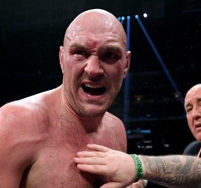 Fury wants Wilder rematch at Manchester United's Old Trafford home
