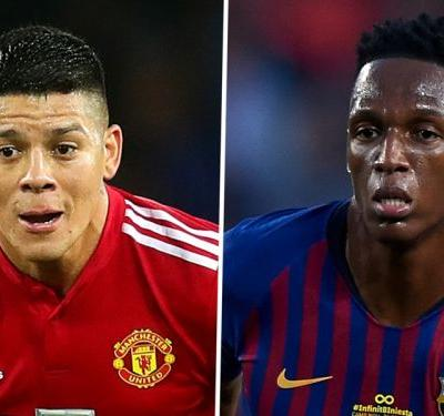 Everton eye Rojo as Barcelona refuse to budge on €40m Mina demands