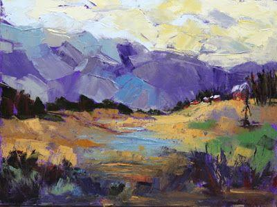 "Contemporary Impressionist Colorado Landscape Painting, Fine Art Oil Painting ""Nature's Legacy"" by Colorado Contemporary Fine Artist Jody Ahrens"