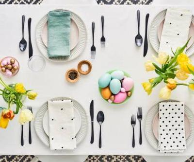 Here's How to Set a Beautiful Easter Table on a Budget