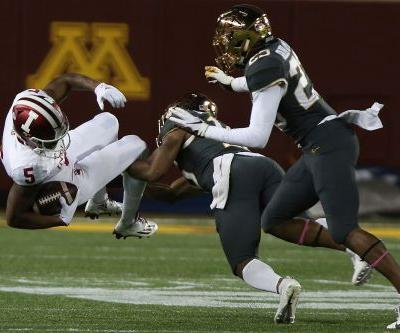 Morgan, Minnesota top Indiana 38-31 on late 67-yard TD pass