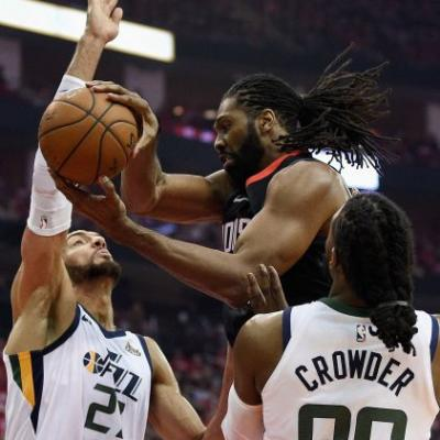 Ingles career night leads Jazz over Rockets 116-108