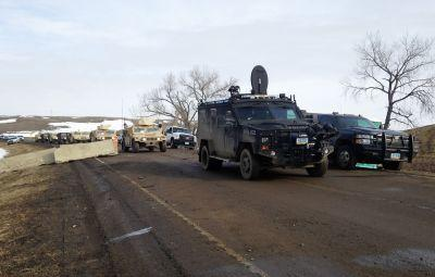 Dakota Access Pipeline protesters arrested after defying evacuation orders