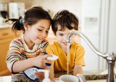 Make Dinner Time Easier with Kitchen Chores for Kids