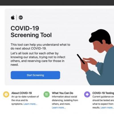 Apple Launches COVID-19 Website and App With Screening Tool and Other Resources