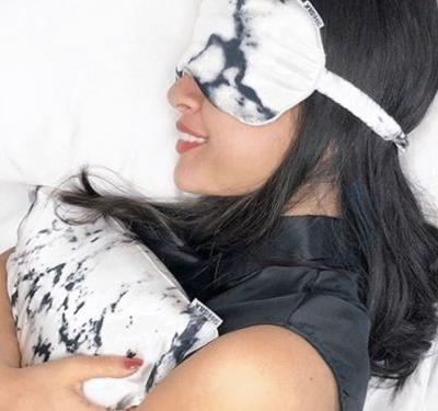 These silk pillow cases, eye masks, and travel pillows loved by celebrities may be pricey, but they're absolutely worth the cost - here's why
