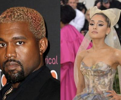 Kanye West's Response To Ariana Grande's Tweet About Him Is A Lot