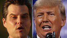 Trump Hung Rep. Matt Gaetz Out To Dry And Jimmy Kimmel Is Loving Every Minute Of It