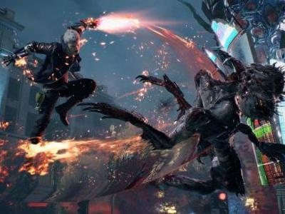Devil May Cry 5 Panel Set for GDC 2019