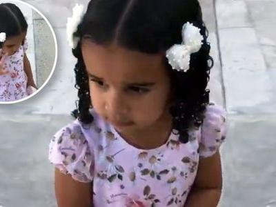 Dream Kardashian Adorably Waves After Aunt Khloé Kardashian Tells Her to 'Say Hi' and We're Not Crying, You Are