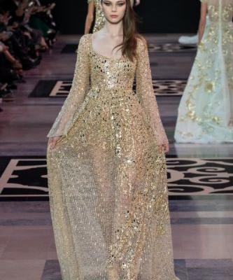 GEORGES HOBEIKA Haute Couture Spring Summer 2019 characterizes