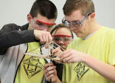 Summit County high school students vie for prizes by building bridges