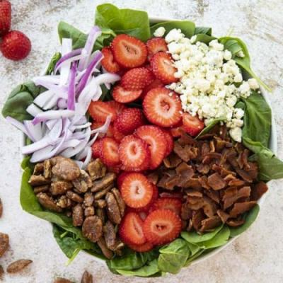 Perfect Spinach Salad