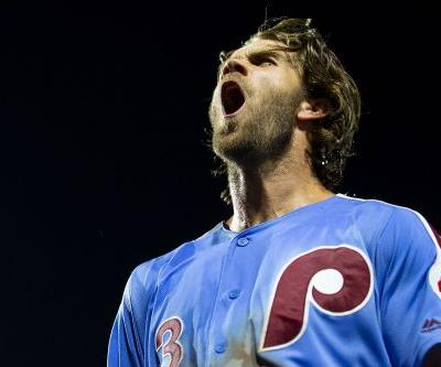 Bryce Harper destroys a baseball for his biggest Phillies moment