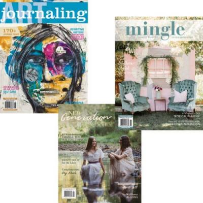 Glimpse Inside April Issues + Your Chance To Win!