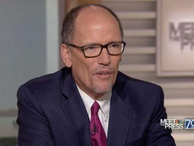 DNC Chair Tom Perez Calls on Northam to Resign After Presser: 'Hatred and Racism Have No Place in Our Democracy'