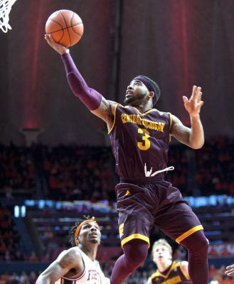 Central Michigan's Marcus Keene scores 50 points in win