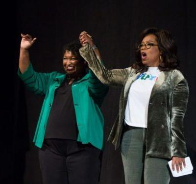 'This is the magical Negro Oprah Winfrey': Racist fake robo-call targets Stacey Abrams in Georgia governor's race