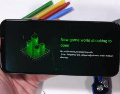 Xiaomi Black Shark 2 gaming phone shows off durable design