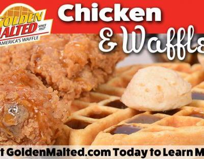 Golden Malted Makes it Easy to Add Chicken & Waffles to Your Menu