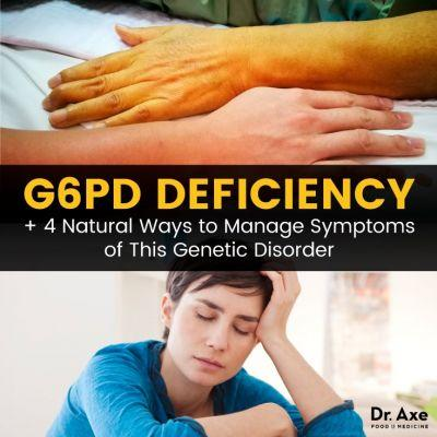 G6PD Deficiency + 4 Natural Ways to Manage Symptoms
