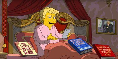 'The Simpsons' hilariously skewers Trump's first 100 days in office
