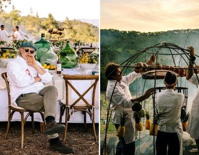 Francis Mallmann, the man who stoked Gwyneth's wedding BBQ, is accustomed to feeding the rich and famous with food from the fire