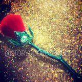 """This Dreamy Makeup Brush Looks Just Like the """"Enchanted Rose"""" From Beauty and the Beast"""