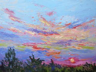 Color in Motion, New Contemporary Landscape Painting by Sheri Jones