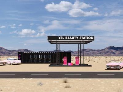 YSL Beauty will be hosting a retro gas station pop-up at Coachella