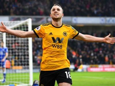 Diogo Jota scores three as Wolves edge Leicester in seven-goal thriller