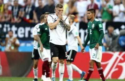 Defending champs Germany drop World Cup opener to Mexico
